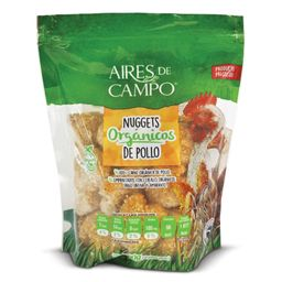 Nuggets Orgánicos de Pollo Aires de Campo