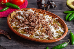 Chilaquiles de Bistec
