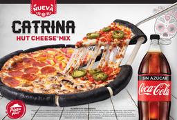 Catrina Hut Cheese Mix + Refresco familiar