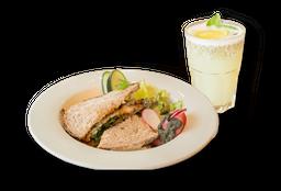 Sándwich de Roast Beef + Limonada Chía