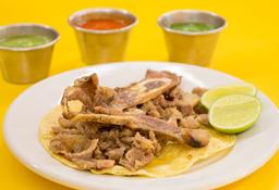 Taco de Chuleta Prime Rib