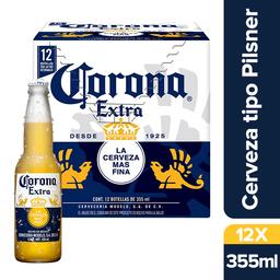 Corona Extra Cerveza Botella 12 Pack