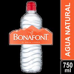Agua Natural Bonafont Sport 750 Ml