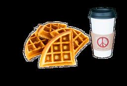 Natural Waffle + Café Americano