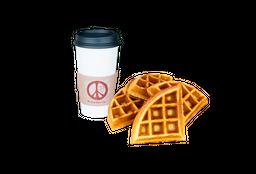 Waffle Belga + Café Americano