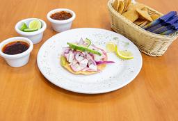 Tosta de Ceviche Peruano