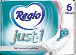 Papel Higiénico Regio Just - Regio - Paquete 6 Und