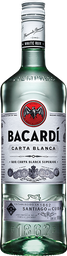 Ron Carta Blanca Superior - Bacardi - Botella 980 Ml