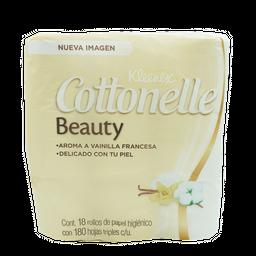 Papel Higienico Cottonelle 180 Hojas Triples Klennex Paq18 U