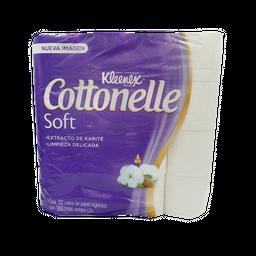 Papel Higiénico Cottonelle Soft Care Doble Hoja Klennex Paq 32U