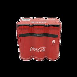 Coca-cola Sin Azúcar Refresco Lata X 6