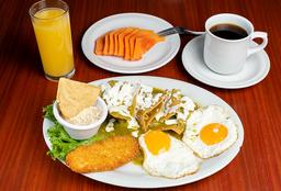 Promo Desayuno de la Casa