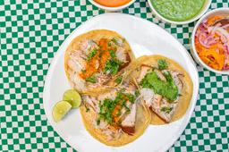 Tacos Tres Piezas