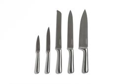 Set de 5 Cuchillos en Acero Inoxidable