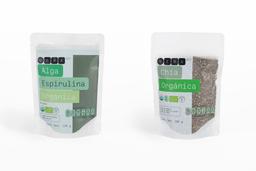 Combo Yema Smoothie de Proteina Alga Espirulina + Chia.