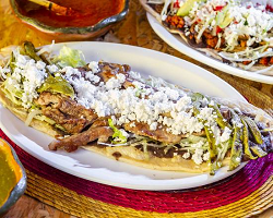 Burrito gigante de arrachera