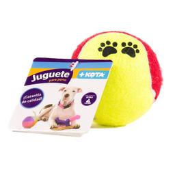 Juguete Para Perro +Kota Pelota de Tennis 1 U