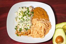 Platillo de Enchiladas Mexicanas