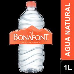 Agua Natural - Bonafont - Botella 1 Lts