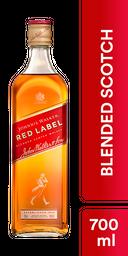 Whisky Red Label - Johnnie Walker - Botella 700 Ml