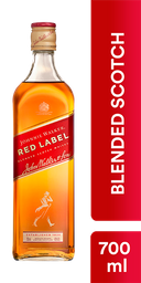 Whisky Red Label - Johnnie Walker - Botella 700 Ml