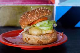 Mini Hamburguesa de Camarón