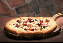 Pizza Gorgonzola con Uvas
