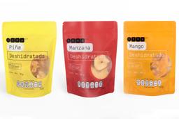Combo YEMA & CO Frutas Deshidratadas Mango + Piña + Manzana 3 U