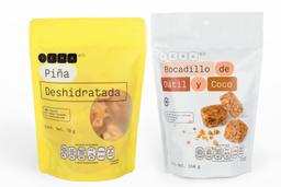 Combo YEMA & CO Piña Deshidratada + Bocadillo de Dátil y Coco 2U