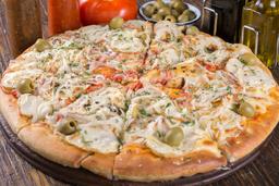 Pizza de Papa y Cebolla
