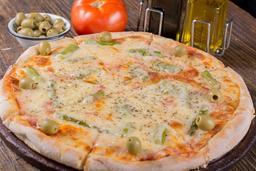 Pizza de Espárragos y Gruyere