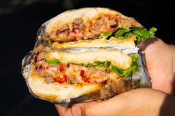 Sándwich Sinatras Steak