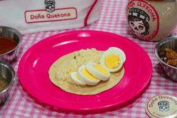 Taco de Huevo Cocido
