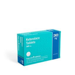 Ketorolaco Sublingual (30 Mg)