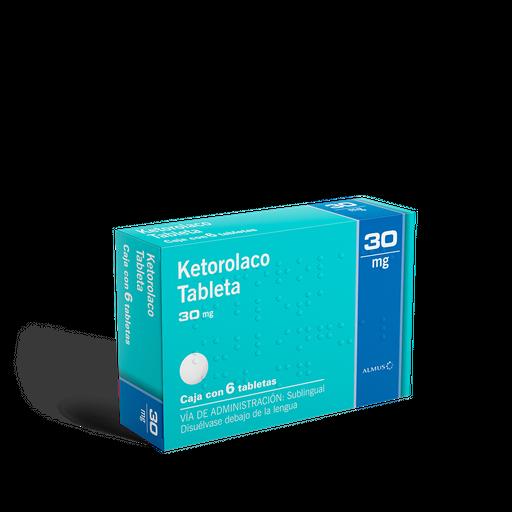 Ketorolaco Sublingual (30 Mg)