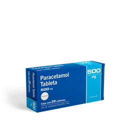 50%OFF en 2°U Paracetamol (500 Mg)