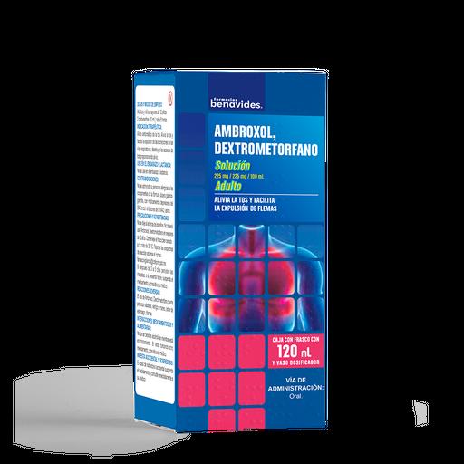 Dextrometorfano Ambroxol Solución (225 Mg/100 Ml)