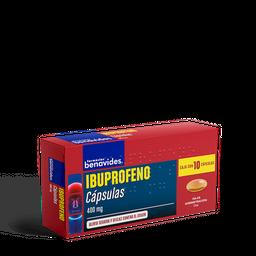 Ibuprofeno 10 Cápsulas (400 mg)