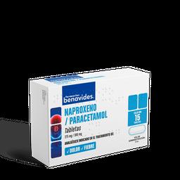 Naproxeno/Paracetamol 15 Tabletas (275 mg/300 mg)