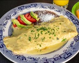 Omelette Puebla