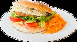 Hamburguesa de Soya