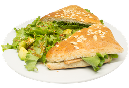 Sándwich de Salmón a la Plancha