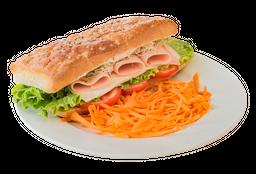 Sándwich Jamón de Pavo