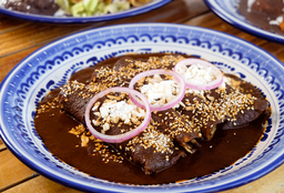 Enchiladas Enmoladas