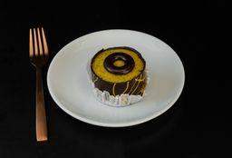 Pastel de Chocolate con Maracuyá