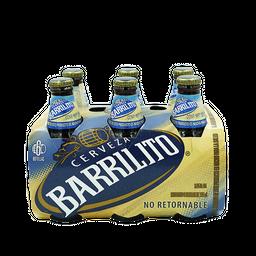 Cerveza 355Ml - Barrilito - Paquete 6 Und
