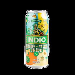 Cerveza Lager - Indio - Lata 473 Ml