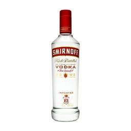 Vodka - Smirnoff - Botella 750 Ml