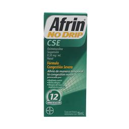 Afrin No Drip Congestión Nasal (25 Mg)
