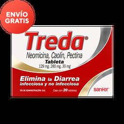 Treda Tabletas C/20